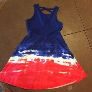 Other - Girls short sundress red white and blue XS (7/8)